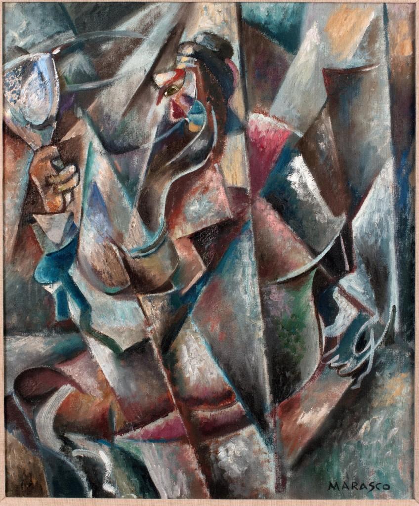 Antonio Marasco, Donna allo specchio-3