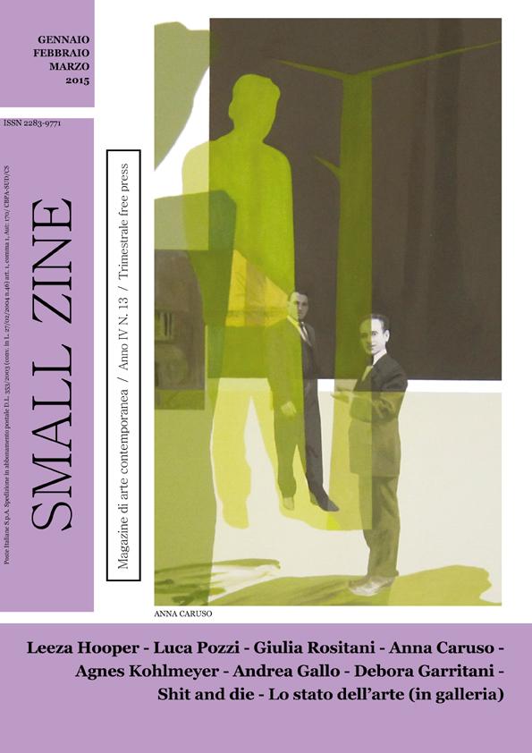 SMALL ZINE copertina